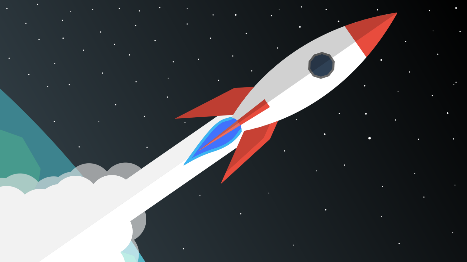 rocket_blasting_off_into_space_vector_clipart.png